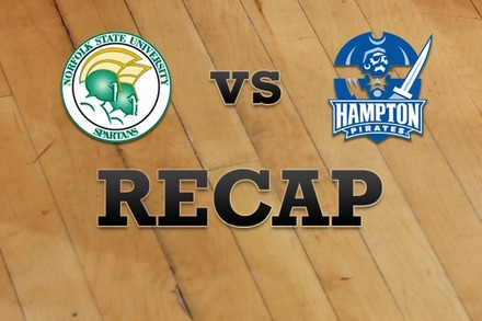Norfolk State vs. Hampton: Recap, Stats, and Box Score