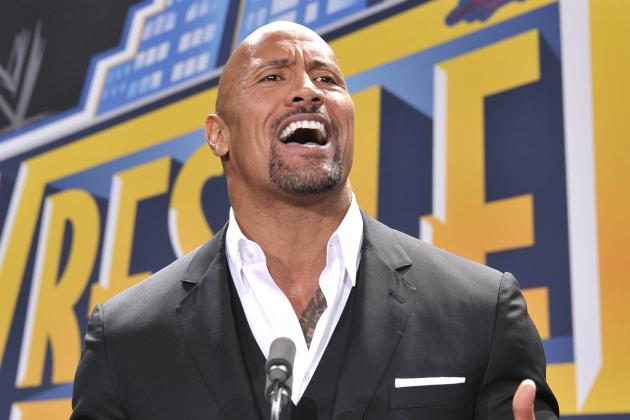 The Rock Unveils New WWE Championship Belt Design on Monday Night Raw