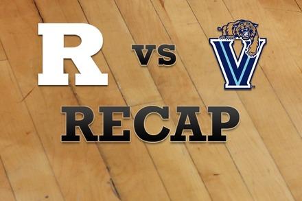 Rutgers vs. Villanova: Recap, Stats, and Box Score
