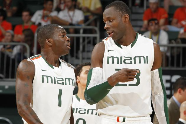 Miami Hurricanes Basketball Team Moves Up to No. 2