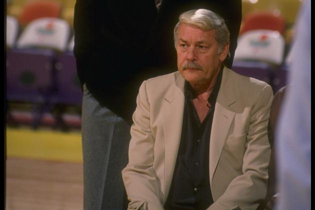 A Photo Timeline of Jerry Buss Throughout His Career as Lakers Owner