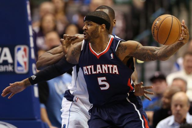 NBA Trade Deadline 2013: Wizards' Interest in Josh Smith Won't Evolve into Deal