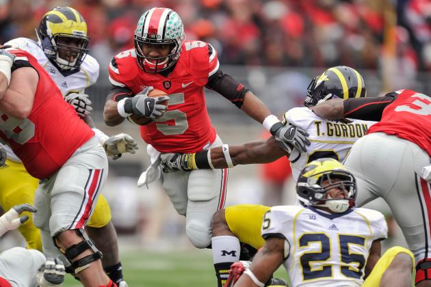 Ohio State and Michigan Belong in the Same Division of the Big Ten Conference