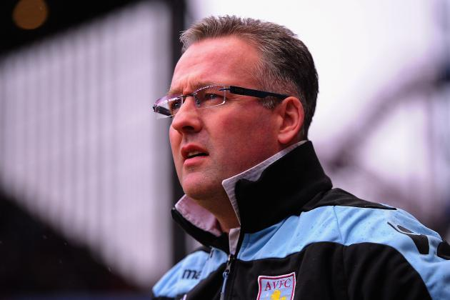 Paul Lambert Is Preparing Aston Villa for 12 Crucial Premier League Games