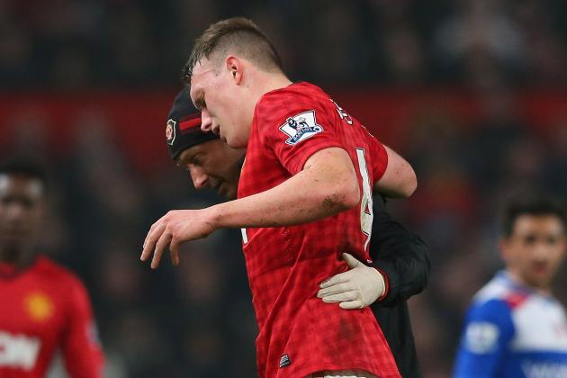 Man Utd: How Can Fergie Deal with Loss of Phil Jones for Real Madrid Tie?