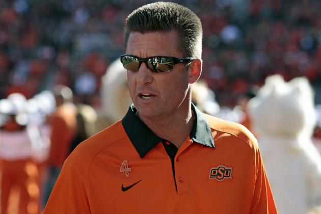 Ex-Ok. St. QB, Subject of Gundy's 'I'm a Man' Rant, Back with the Cowboys