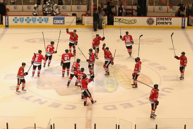 The Chicago Blackhawks Would Dominate NHL with or Without Interconference Games