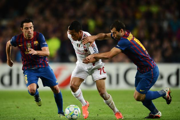 AC Milan vs. Barcelona: Preview and Stats Package