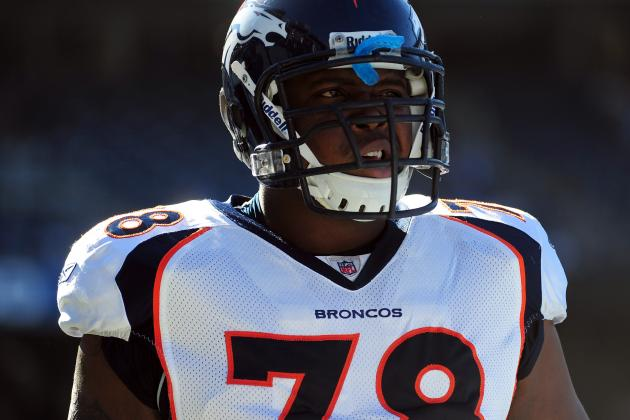 Ryan Clady: 'Five-to-Six' Months of Shoulder Rehab