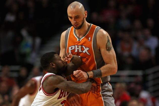 Report: Marcin Gortat's Trade Value May Have Taken a Hit