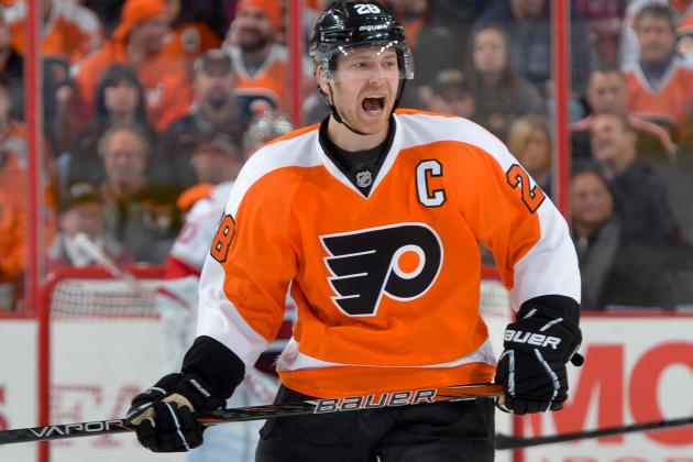 Claude Giroux Takes His First Big Step as Philadelphia Flyers Captain