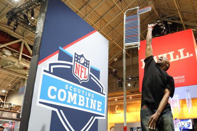 NFL Combine Schedule 2013: Day-by-Day Group Events, Live Stream, More