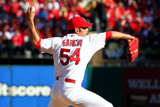 Cardinals' Jaime Garcia Says Shoulder Healthy