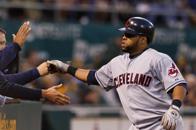 Indians' Carlos Santana Expected to Spend Less Time at First