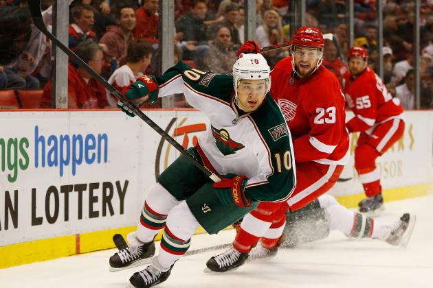Wild's Devin Setoguchi Fined $8,108.11 for High-Sticking