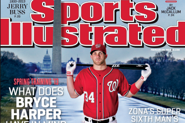 Harper Lands SI's 2013 Spring Training Cover