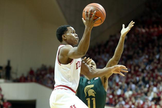 17-Game Losing Streak at Michigan St. Looms over Top-Ranked Hoosiers