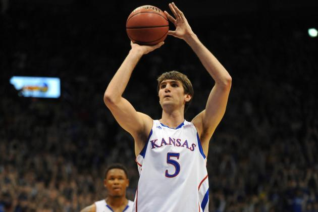 Kansas Center Jeff Withey Shares Big 12 Player of the Week Honors