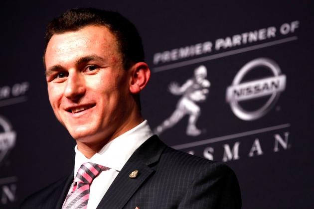 Johnny Manziel's Fame Forces Him off Campus, Takes Online Classes This Spring