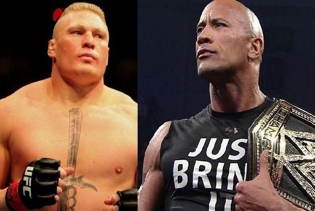 Brock Lesnar vs. The Rock Must Main Event WWE's ...