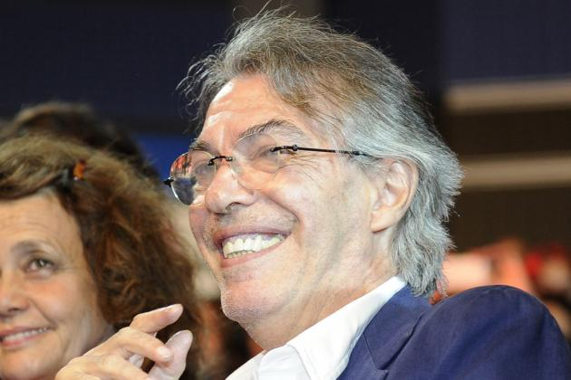 Moratti Celebrates 18th Year as Inter President