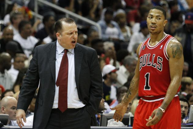 Tom Thibodeau Says It's Possible Derrick Rose Misses Season