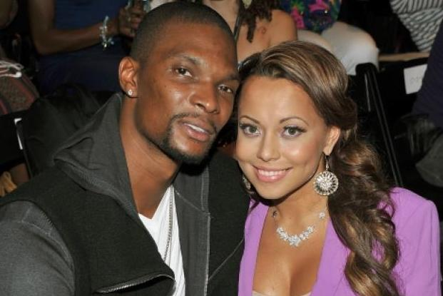 Chris Bosh's Wife, Adrienne, Indirectly Responds to Lil Wayne's Claims