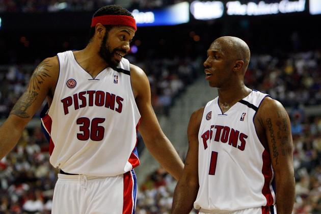 How Tayshaun Prince and the 2004 Starters Fared in Their Returns to Detroit