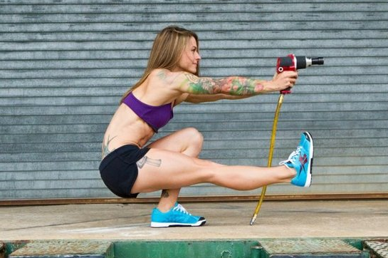 Christmas Abbott Is Set to Enter Where Few Women Have Gone Before