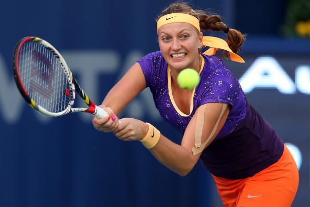 Kvitova, Wozniacki Win Openers at Dubai