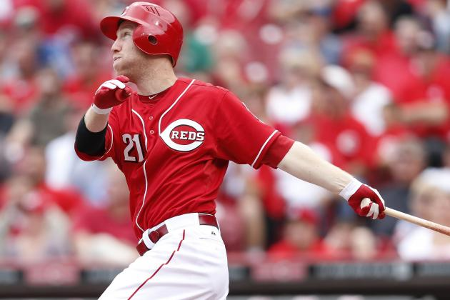 Reds Giving Frazier Chance to Start at 3B