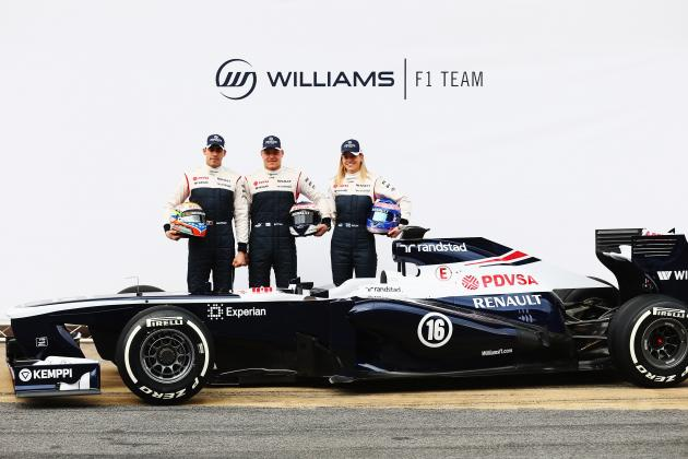 Williams Unveils New FW35 Car for 2013 Season