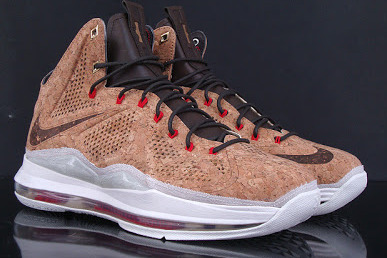 Updated Nike LeBron X Cork Release Information