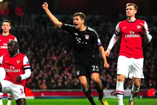 Arsenal 1-3 Bayern Munich: Bayern Teach Gunners a Lesson