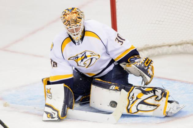 Preds Goalie Says NHL Should 'definitely' Have Coach's Challenges