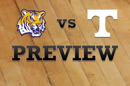 LSU vs. Tennessee: Full Game Preview