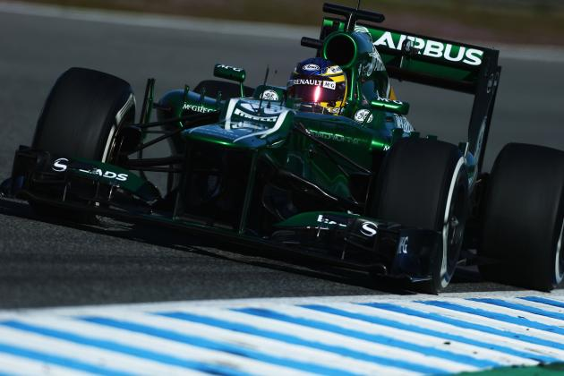 Charles Pic Hampered by Gearbox Problem