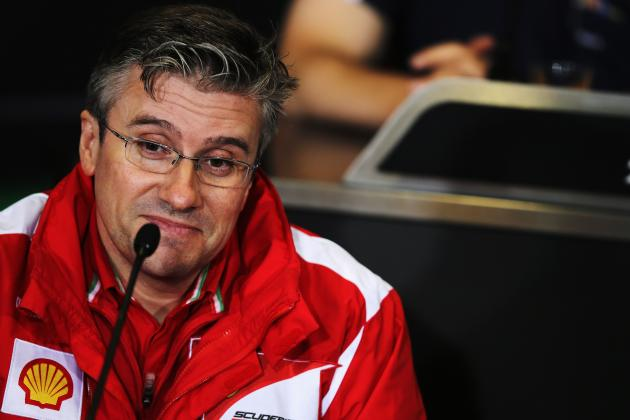 Pat Fry Plays Down Reports of Problems with New Ferrari F138