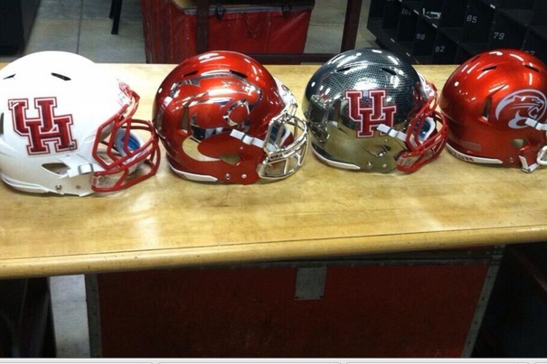 Photo: New Helmets on the Way at Houston?