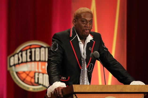 Jerry Buss' Passing: Dennis Rodman Gets Emotional on Jay Leno Show