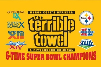 The Terrible Towel Comes Home