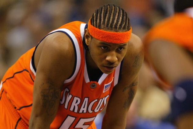 Syracuse to Have Record Carrier Dome Crowd at Carmelo Jersey Retirement