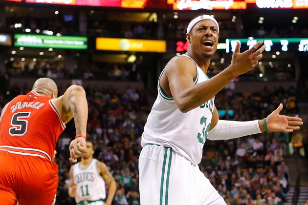Paul Pierce: Dealing Fan Favorite for Josh Smith Would Be Lateral Move