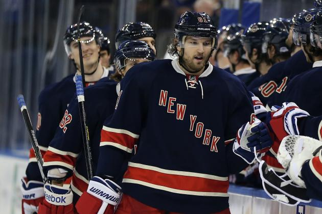 Rick Nash Injury: Updates on Rangers Star's Status