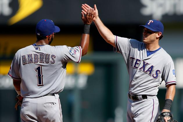 Kinsler, Andrus Continue to Provide the Rangers' 1-2 Punch