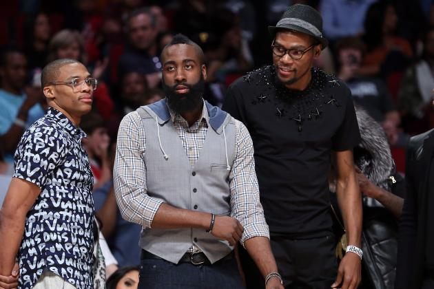 James Harden Just Wants to Win vs. Former Teammates