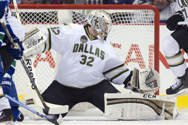 Report: Stars' Lehtonen Could Resume on-Ice Workouts Soon