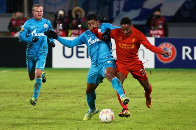 Liverpool vs. Zenit St. Petersburg: Date, Time, Live Stream, TV Info and Preview