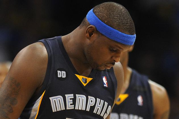 Zach Randolph Not Going Anywhere