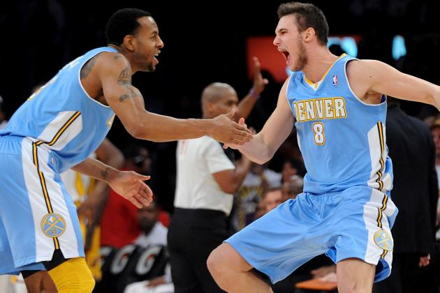 Iguodala and Gallinari Return to Starting Lineup